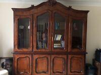 Antique Bookcase.
