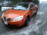 2006 Pontiac G6 GT Coupe (2 door) - Rare Orange Colour