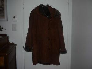 manteau fourrure véritable