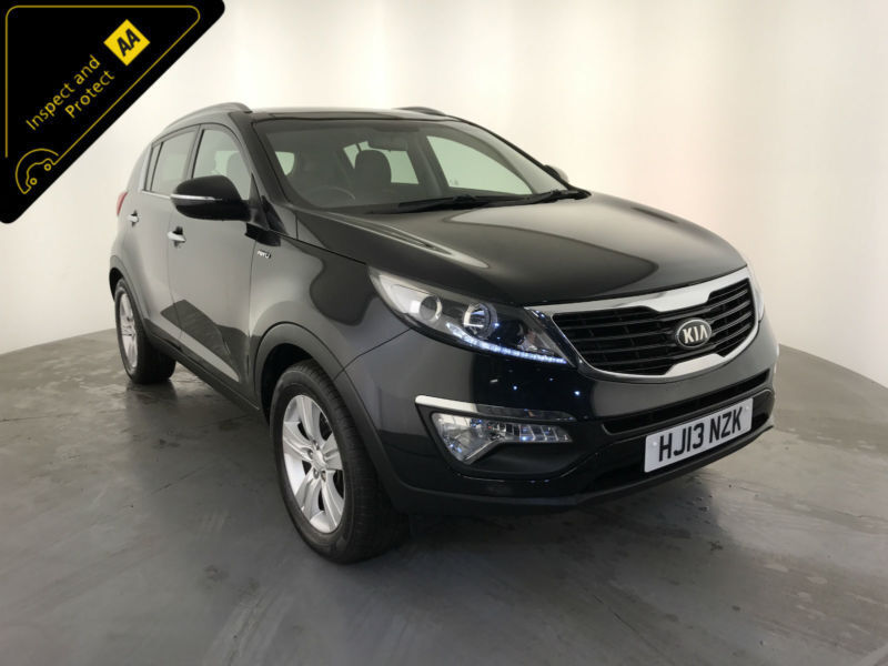 2013 kia sportage kx 2 crdi 4 wheel drive 1 owner service history finance px in wolverhampton. Black Bedroom Furniture Sets. Home Design Ideas