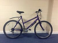 "26"" Raleigh Ladies Bike Bicycle with Swimano 18 Gears, Double Mudguards in Very Good Condition"