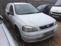 2002 Vauxhall Astravan 1.7DTi 16v COMPLETE WITH M.O.T AND WARRANTY