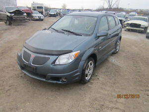 LAST CHANCE FOR PARTS! 2006 PONTIAC VIBE @ PICNSAVE WOODSTOCK!
