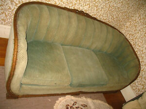 Matching Antique Couch and Arm Chair