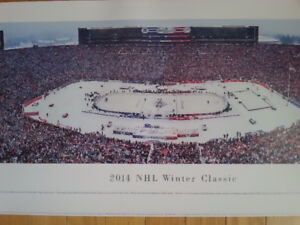 2014 Winter Classic Official Photo Leafs-Wings