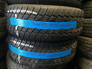 PAIR P265/65R17 Toyo Open Country AT (TW)
