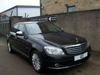 08 08 MERCEDES C200CDi ELEGANCE TURBO DIESEL 2.1 4DR FULL LEATHER BLUETOOTH A/C