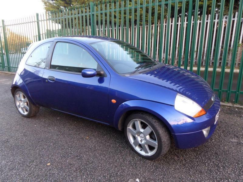 ford ka 1 6 sport 2005 blue in mansfield woodhouse nottinghamshire gumtree. Black Bedroom Furniture Sets. Home Design Ideas