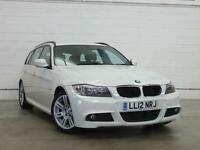 2012 BMW 3 SERIES 318d M Sport 1 Owner GBP30 Tax Parksensor Cruise