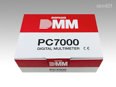 Sanwa Digital Multi Meter Pc7000 Capacity Temperature Frequency Measurement Dhl