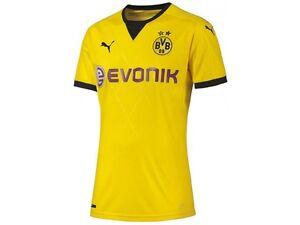 Puma-BVB-Borussia-Dortmund-Euro-League-Trikot-Gr-176-Farbe-Gelb