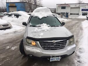 2004 Chrysler Pacifica AWD  3.5l v6 7 seater as is