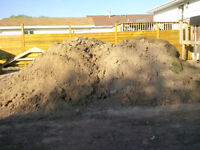 25 tons of clean fill clay/topsoil mix