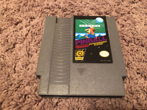 NES PINBALL GAME 100% WORKS (TESTED)