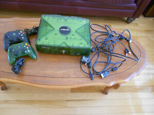XBOX with 2 controllers.