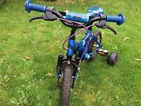 Blue Raleigh Atom Childs Bike 12 Inch