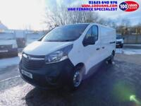 VAUXHALL VIVARO 1.6CDTi 115PS 2900 L2H1 WITH FULL ELECTRIC WINDOWS AND MIRRORS