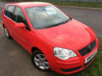 VW POLO 1.2 MATCH £22 WEEK NO DEPOSIT GREAT 1ST CAR CD A/C ALLOY 5 DR HATCH 2009
