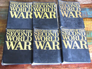 Purnell's History of the Second World War Books - 6