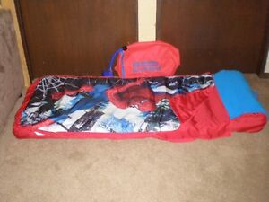 Spiderman Inflatable Ready Bed Edmonton Edmonton Area image 1