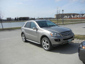 2008 Mercedes-Benz M-Class ML 320 cdi SUV, Crossover