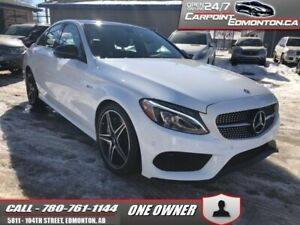 2017 Mercedes Benz C-Class  AMG C 43 4MATIC...FLAWLESS  - One ow