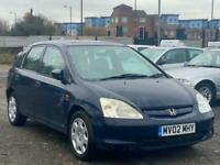 * HONDA CIVIC 1.6i VTEC SE 5 DOOR + 2 OWNERS + CLICK COLLECT BUY FROM HOME *