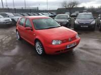 VW VOLKSWAGEN GOLF 1.8T GTi T TURBO BRIGHT RED
