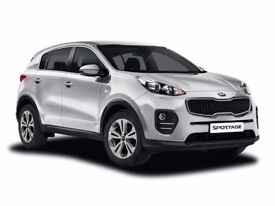 RENT A BRAND NEW 17 PLATE KIA WITHOUT A CREDIT CHECK!!!!!