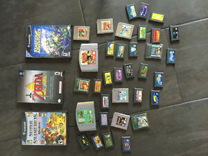 Jeux game cube,game boy sp,nintendo 64 et game boy color