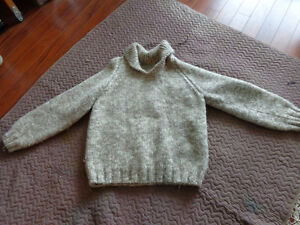 TWO SIWASH SWEATERS and TOQUE
