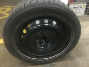 Blizzack Tires - Set of 4 with rims - Excellent condition