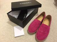 Stylish Chanel espadrilles! Size UK 2-8