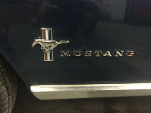 mustang 1967 match number