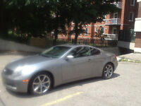 Infiniti G35 FULL options Coupé --- 105 000 Km--- 7999 $