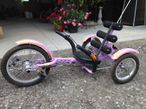 Mobo Mobito - The Ultimate Three Wheeled Cruiser (Youth) purple