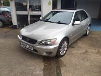 Lexus is 200 SE Automatic 1 local owner FSH probably the best around well worth a look