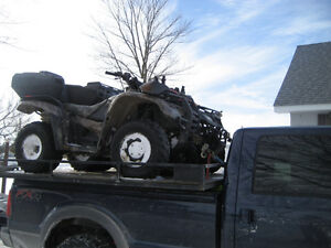 TAKE YOURS TOYS TOO:  ATV / SNOWMOBILE TRUCK RACK