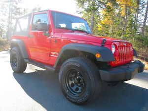 2012 Jeep Wrangler Sport *FLAME RED* Just 41 KMS!
