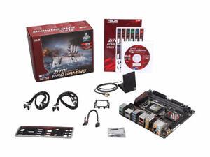 ASUS Z170I PRO GAMING LGA 1151 Intel Z170 HDMI SATA 6Gb/s