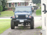 MUST SELL - 2002 Jeep TJ Convertible