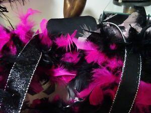 SHOWGIRL HEADDRESS MASK BUSTLE feathers DRAG MARDI GRAS costume Cambridge Kitchener Area image 6