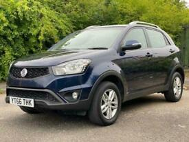 2016 Ssangyong Korando 2.2 SE 5dr with 2 ton towing capability Tow car of the ye