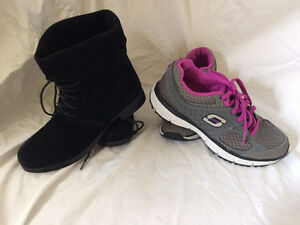Girls Ankle boot and Sketcher sneakers St. John's Newfoundland image 1