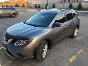 2016 Nissan Rogue S,CAM, Leath, NAV, Winter Tires, Bluetooth