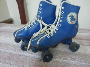 Smurf Roller Skates