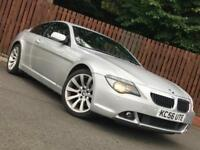**AUTOMATIC** BMW 630i SPORT COUPE FULL SERVICE HISTORY LONG MOT