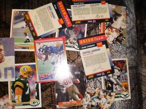 FOOTBALL CARDS FROM 90'S approx. 40 cards $20 Prince George British Columbia image 4