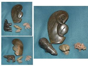 4 SOAP STONE FIGURINES Peterborough Peterborough Area image 1
