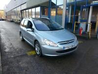 Peugeot 307 SW 2.0HDi 110 ( 5st ) ( FAP a/c ) S ESTATE - 2002 52-REG - 6 MONTHS